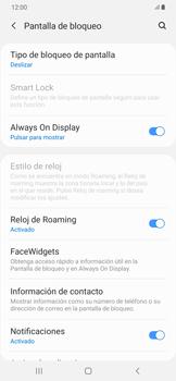 Desbloqueo del equipo por medio del patrón - Samsung Galaxy A50 - Passo 5