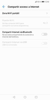 Configura el hotspot móvil - Huawei Y6 2018 - Passo 5