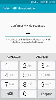 Desbloqueo del equipo por medio del patrón - Samsung Galaxy J7 - J700 - Passo 14