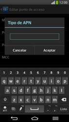 Configura el Internet - LG G Flex - Passo 14