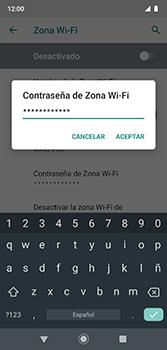 Configura el hotspot móvil - Motorola Moto G7 Plus - Passo 13