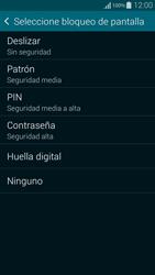Desbloqueo del equipo por medio del patrón - Samsung Galaxy Alpha - G850 - Passo 6
