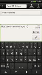 Envía fotos, videos y audio por mensaje de texto - HTC ONE X  Endeavor - Passo 11