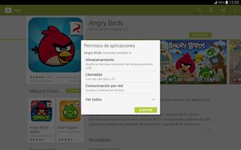 Instala las aplicaciones - Samsung Galaxy Note Pro - Passo 18