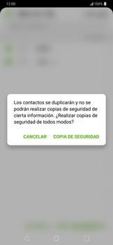 ¿Tu equipo puede copiar contactos a la SIM card? - LG G7 ThinQ - Passo 12
