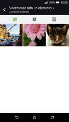 Envía fotos, videos y audio por mensaje de texto - HTC One A9 - Passo 16