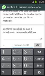 Configuración de Whatsapp - Samsung Galaxy Trend Plus S7580 - Passo 5