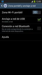 Comparte la conexión de datos con una PC - Samsung Galaxy S4  GT - I9500 - Passo 7