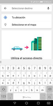 Uso de la navegación GPS - Huawei Mate 10 Lite - Passo 13