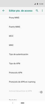 Configura el Internet - Motorola One Vision (Single SIM) - Passo 12