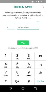 Configuración de Whatsapp - LG Q6 - Passo 8