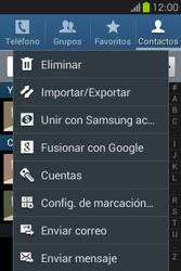 ¿Tu equipo puede copiar contactos a la SIM card? - Samsung Galaxy Fame GT - S6810 - Passo 5