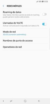 Configurar el equipo para navegar en modo de red LTE - Samsung Galaxy Note 8 - Passo 5