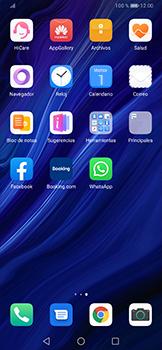 Usar WhatsApp - Huawei P30 Pro - Passo 2