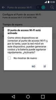Configura el hotspot móvil - LG V10 - Passo 10