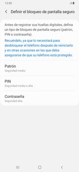 Habilitar seguridad de huella digital - Samsung Galaxy A30 - Passo 6
