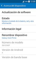 Actualiza el software del equipo - Samsung Galaxy Core Prime - G360 - Passo 6