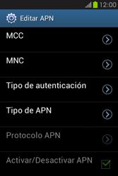 Configura el Internet - Samsung Galaxy Fame GT - S6810 - Passo 12