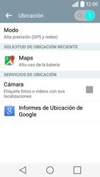 Uso de la navegación GPS - LG C50 - Passo 24
