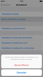 Restaura la configuración de fábrica - Apple iPhone 6s - Passo 6