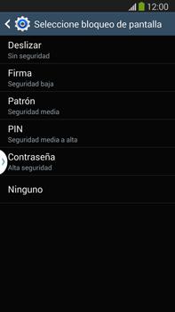 Desbloqueo del equipo por medio del patrón - Samsung Galaxy Note Neo III - N7505 - Passo 7