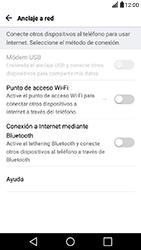 Configura el hotspot móvil - LG X Power - Passo 4