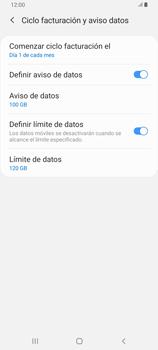 Desactivación límite de datos móviles - Samsung Galaxy A80 - Passo 7