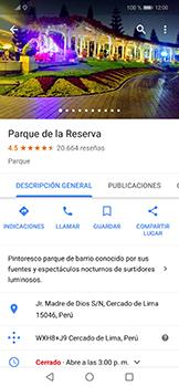 Uso de la navegación GPS - Huawei Mate 20 Lite - Passo 9