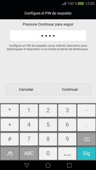 Desbloqueo del equipo por medio del patrón - Huawei Mate S - Passo 11