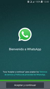 Configuración de Whatsapp - Samsung Galaxy J7 - J700 - Passo 4