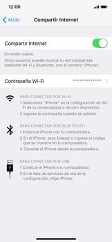 Configura el hotspot móvil - Apple iPhone XS - Passo 8
