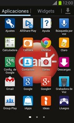 Configura el Internet - Samsung Galaxy Win - I8550 - Passo 3