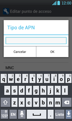 Configura el Internet - LG Optimus L7 - Passo 15