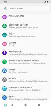 Restaura la configuración de fábrica - Motorola Moto G8 Plus (Dual SIM) - Passo 4