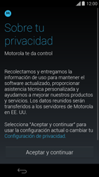 Activa el equipo - Motorola Moto G - Passo 5