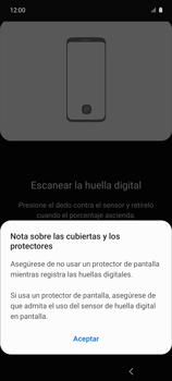 Habilitar seguridad de huella digital - Samsung Galaxy A51 - Passo 11