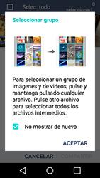 Transferir fotos vía Bluetooth - LG K4 - Passo 6