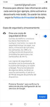 Crea una cuenta - Samsung Galaxy A10 - Passo 17