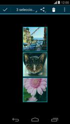 Transferir fotos vía Bluetooth - Motorola Moto G - Passo 8