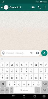 Usar WhatsApp - Huawei P20 Pro - Passo 5