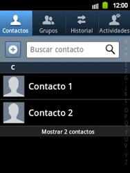 ¿Tu equipo puede copiar contactos a la SIM card? - Samsung Galaxy Y  GT - S5360 - Passo 3