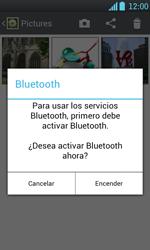 Transferir fotos vía Bluetooth - LG Optimus L7 - Passo 9