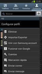 ¿Tu equipo puede copiar contactos a la SIM card? - Samsung Galaxy S 3  GT - I9300 - Passo 5