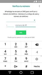 Configuración de Whatsapp - LG K10 2017 - Passo 6