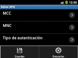 Configura el Internet - Samsung Galaxy Y Pro GT - B5510 - Passo 16