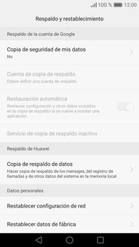 Restaura la configuración de fábrica - Huawei Mate 8 - Passo 5