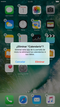 Eliminar y restaurar aplicaciones predeterminadas de iOS - Apple iPhone 7 Plus - Passo 4