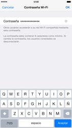 Configura el hotspot móvil - Apple iPhone 6 Plus - Passo 5