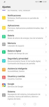 Desactivar la sincronización automática - Huawei P30 - Passo 3