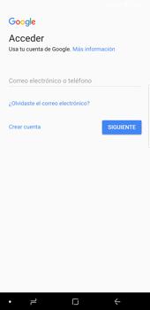 Crea una cuenta - Samsung Galaxy S9 Plus - Passo 3